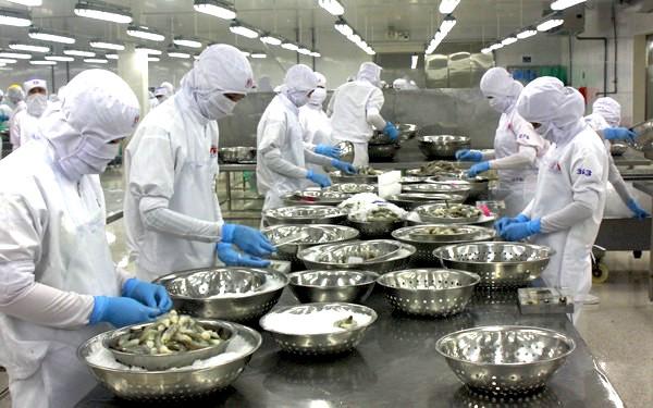 Trung Quốc giảm mạnh sản lượng nhập khẩu tôm vì Covid-19