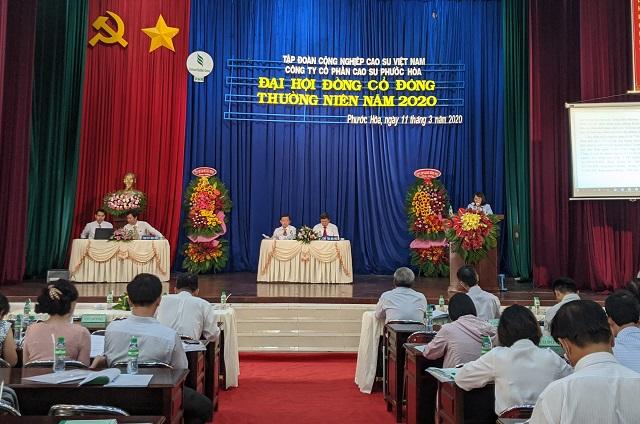 Cao su Phước Hòa: Hạch toán 860 tỷ đồng năm 2020 từ thu hồi đất KCN Nam Tân Uyên