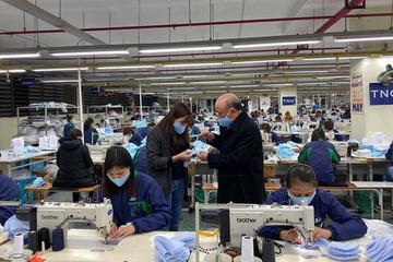 Đơn hàng khẩu trang đột biến, doanh thu nội địa tháng 2 của TNG tăng 240%
