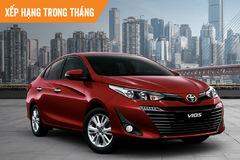 Top ôtô bán chạy tháng 2: Toyota Vios quay lại vị trí dẫn đầu