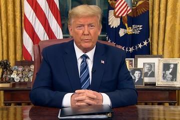 Trump tuyên bố cấm đi lại giữa Mỹ và châu Âu