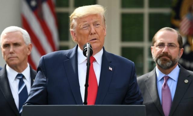Trump tuyên bố tình trạng khẩn cấp quốc gia