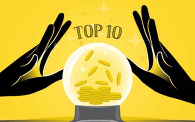 10 cổ phiếu tăng/giảm mạnh nhất tuần: Có mã lên hơn 100%
