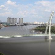 Chọn phương án thiết kế cầu đi bộ qua sông Sài Gòn