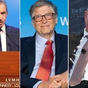 20 tỷ phú giàu nhất thế giới mất gần 300 tỷ USD trong hơn một tháng vì Covid-19