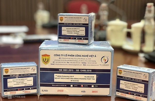 Việt Nam chính thức xuất khẩu kit thử virus SARS-CoV-2