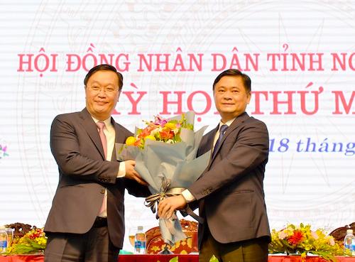 Nghệ An có tân chủ tịch tỉnh