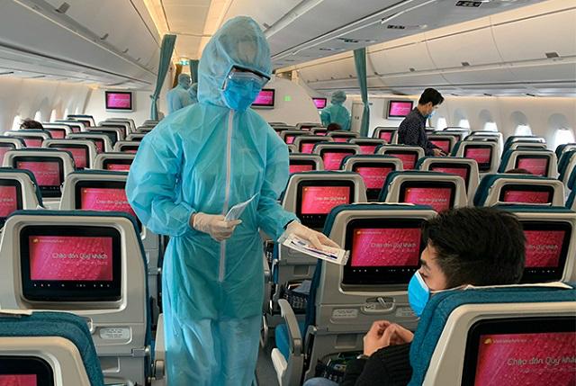 Hơn 600 tiếp viên Vietnam Airlines phải cách ly