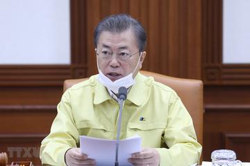 Tổng thống Hàn Quốc công bố gói cứu trợ 50.000 tỷ won vì Covid-19