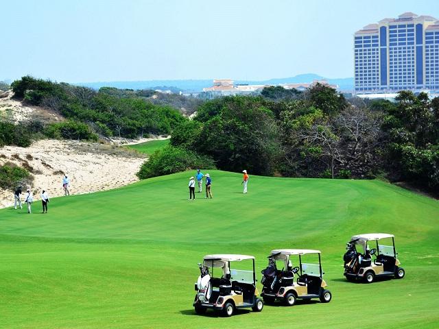 Bà Rịa - Vũng Tàu chấp thuận chủ trương đầu tư dự án sân golf 18 lỗ