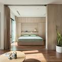 <p> Nhằm cải thiện chất lượng cuộc sống, mang đến không gian mở và linh hoạt, gần gũi với thiên nhiên nên căn hộ đã được thay đổi thiết kế.</p>