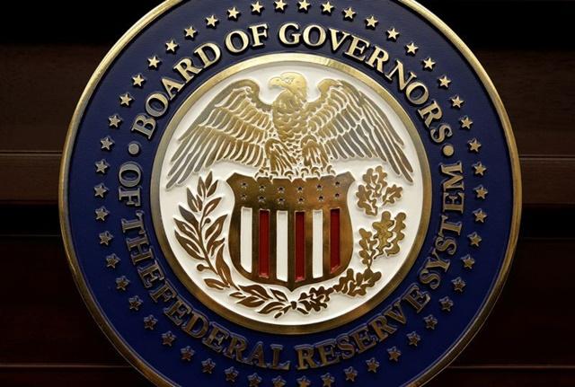 Biểu tượng của hội đồng thống đốc Fed. Ảnh: Reiters.