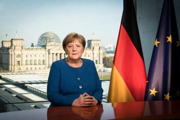 Bà Merkel phát biểu trước người Đức, xem Covid-19 là thách thức lớn nhất từ Thế chiến II