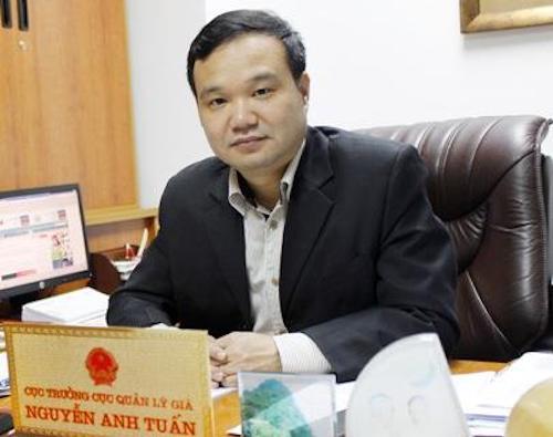 Ông Nguyễn Anh Tuấn - Cục trưởng Cục Quản lý giá, Bộ Tài chính..