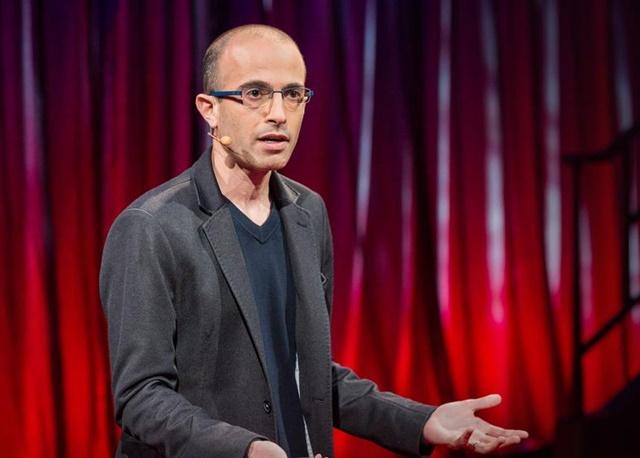 Nhà sử học, triết gia Yuval Noah Harari. Ảnh: TED Talks.