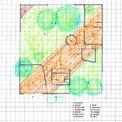 <p> Bản vẽ thiết kế ngôi nhà trong không gian chung.</p>