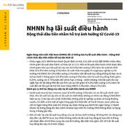KBSV: Đánh giá động thái hạ lãi suất điều hành của NHNN