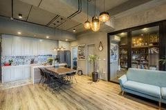 Đi ngược số đông, gia đình trẻ ở Hà Nội cải tạo căn hộ 2 phòng ngủ thành một
