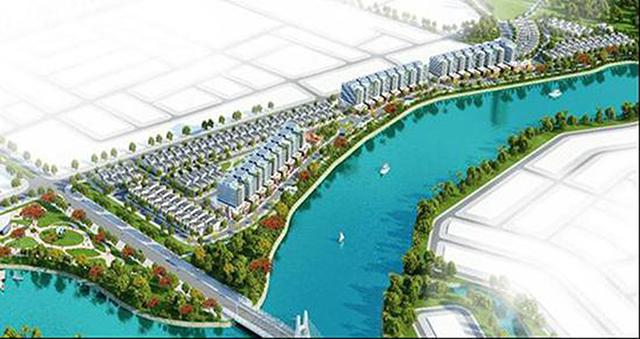 Dự án Mở rộng Khu đô thị ven sông Hòa Quý – Đồng Nò về phía Đông.
