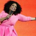"""<p> """"Nguyên nhân tôi có thể trở nên giàu có về mặt tài chính đó là: trọng tâm của tôi chưa bao giờ là tiền bạc, dù chỉ một phút"""", Oprah Winfrey - người dẫn chương trình, doanh nhân. (Ảnh: <em>Bloomberg</em>)</p>"""