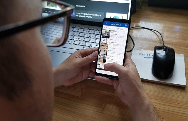 Doanh nghiệp BĐS ra app bán hàng, tung giải pháp ứng phó với Covid-19
