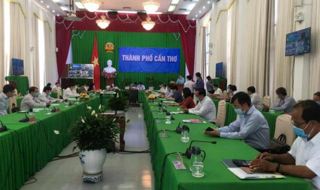 Phiên họp thường kỳ tháng 3 của UBND TP Cần Thơ.