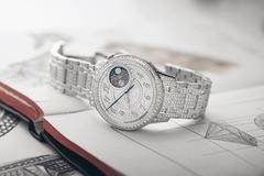 Đồng hồ mới của Vacheron Constantin 'bọc' trong 1.345 viên kim cương trắng