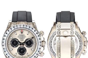 Đồng hồ Rolex Daytona 'độ' kim cương giá 2,6 tỷ đồng
