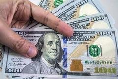 Giá USD mua vào giảm