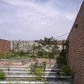 <p> Khu vườn ở tầng thượng.</p>