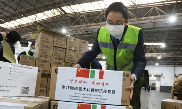 Châu Âu thận trọng trước chiến lược 'ngoại giao khẩu trang' của Trung Quốc
