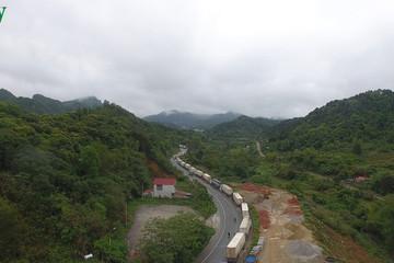 Lại ùn tắc nông sản tại các cửa khẩu ở Lạng Sơn