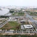 <p> Dự án giáp giáp cầu Thủ Thiêm 1, có hướng nhìn thẳng ra sông Sài Gòn.</p>