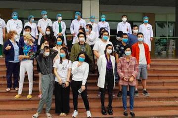 27 người nhiễm Covid-19 xuất viện, trong đó có bệnh nhân thứ 17