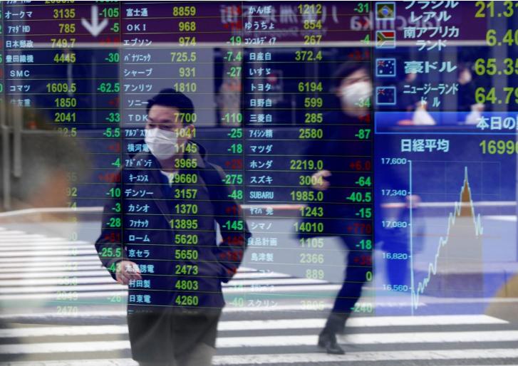 Chứng khoán châu Á tăng nhờ tín hiệu tích cực từ kinh tế Trung Quốc