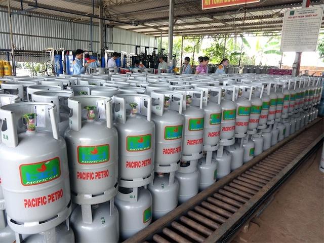 Giá gas giảm mạnh nhất 9 năm. Ảnh: Pacific Petro.