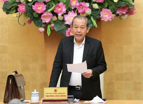 Phó thủ tướng Trương Hòa Bình: 12 dự án thua lỗ yếu kém, không thể phục hồi thì cho phá sản