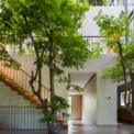 <p> Các khoảng trống trong nhà kết hợp cả các yếu tố tự nhiên như thực vật và cây cối, giúp các phòng có thêm ánh sáng tự nhiên. Nó mang lại cảm giác xanh mướt từ công viên bên cạnh đến cả ba tầng của tòa nhà. Ngôi nhà giống như một khu rừng nhiệt đới.</p>