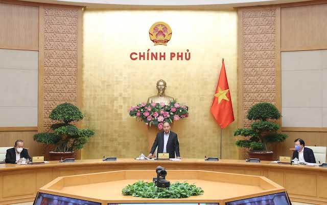 Thủ tướng phát biểu tại cuộc làm việc với tỉnh Đồng Nai. Ảnh: VGP.