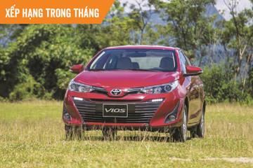 Top ôtô bán chạy tháng 3: 7/10 mẫu xe là của Toyota và Hyundai