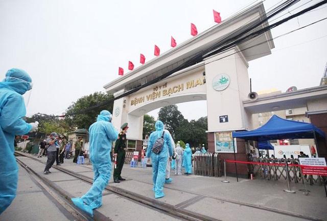0h ngày mai gỡ phong tỏa Bệnh viện Bạch Mai