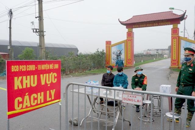 Ngày 12/4: Thêm 2 người nhiễm Covid-19 đều liên quan đến thôn Hạ Lôi