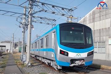 Hình ảnh đoàn tàu metro đầu tiên của TP HCM