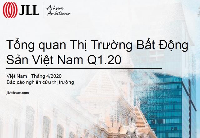 JLL: Tổng quan thị trường BĐS Việt Nam quý I/2020