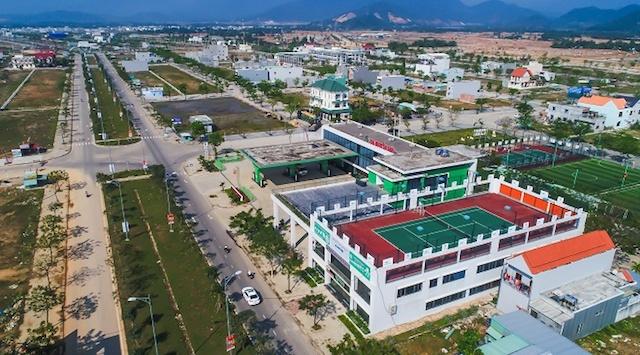 Dự án Golden Hills City tại Đà Nẵng. Ảnh: Báo Đà Nẵng.