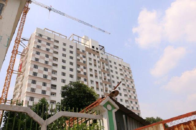 Không tháo dỡ 2 tầng vi phạm ở Tân Bình Apartment, TP HCM