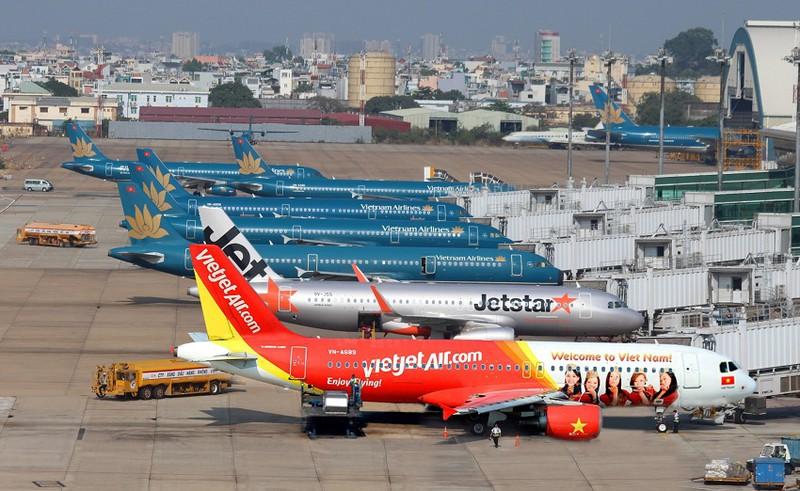 Các hãng hàng không tăng tần suất bay Hà Nội - TP HCM