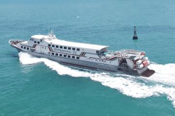 Tàu cao tốc Superdong – Kiên Giang lãi quý I giảm tới 81% do ảnh hưởng Covid-19