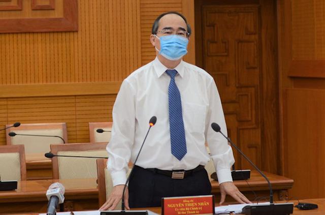 Bí thư Nguyễn Thiện Nhân muốn 3 tháng nữa ngành dịch vụ sẽ 'trở lại như cũ'