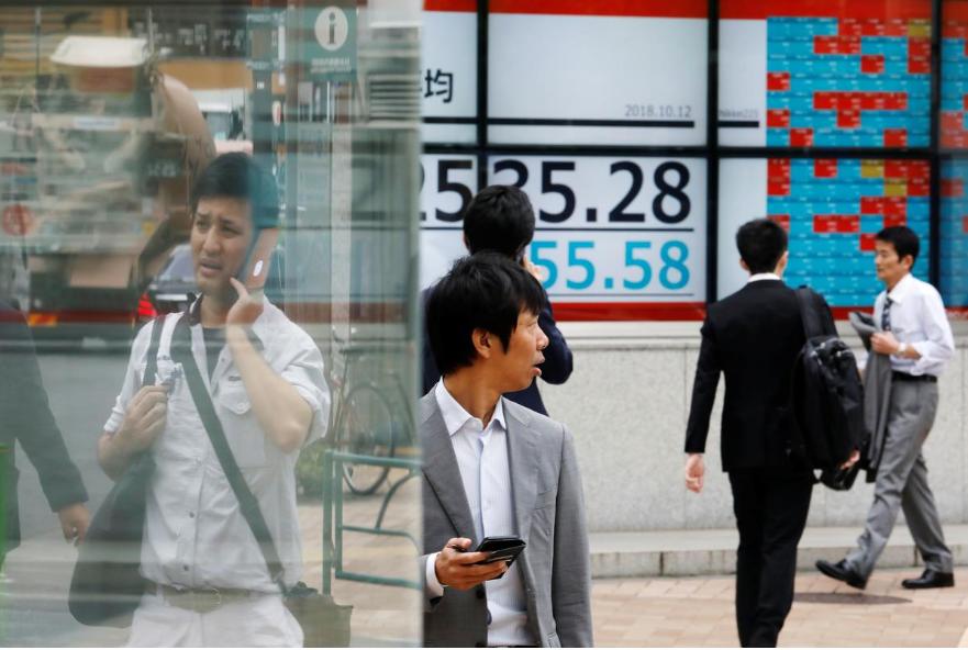Kinh tế châu Á dự báo không tăng trưởng trong 2020, chứng khoán giảm